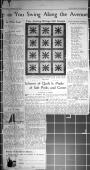 Detroit News, Fine Sewing Brings Out Design. Scheme of Quilt is Made of Soft Pinks and Green, March 10, 1936