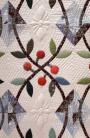 Cherry Ripe Quilt-detail