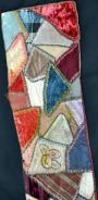 Victorian Patchwork strip - detail 1