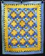 Pieced 8 pointed Star wall hanging
